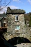 Casa en el puente, Ambleside. Fotos de archivo