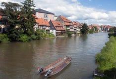 Casa en el río Imagenes de archivo