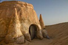 Casa en el Sáhara Foto de archivo