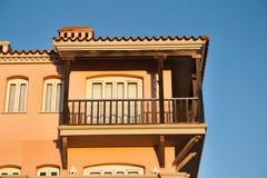 Casa en España foto de archivo