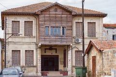 Casa en estilo colonial inglés Imágenes de archivo libres de regalías