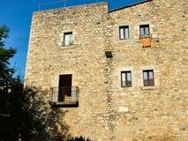 Casa en Girona en Cataluña Imagen de archivo libre de regalías