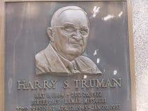Casa en Grandview, Missouri de la granja de Harry S Monumento de Truman Foto de archivo libre de regalías