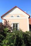 Casa en Jindrichuv Hradec Imagen de archivo libre de regalías