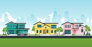Casa en la ciudad libre illustration