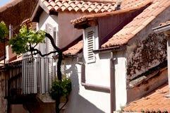 Casa en la ciudad emparedada de Dubrovnic en Croacia Europa Dubrovnik se apoda perla del ` del Adriático Imagenes de archivo