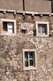 Casa en la ciudad emparedada de Dubrovnic en Croacia Europa Dubrovnik se apoda perla del ` del Adriático Imagen de archivo libre de regalías