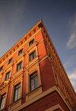 Casa en la ciudad vieja de Varsovia Fotografía de archivo