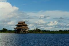 Casa en la costa Bali fotografía de archivo libre de regalías