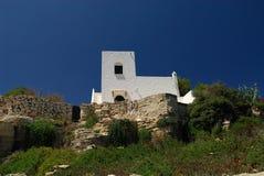 Casa en la isla de Favignana Imagenes de archivo