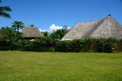 Casa en la isla de Hauhine imagen de archivo libre de regalías