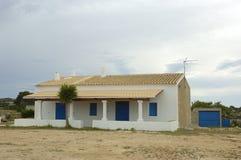 Casa en la isla de Ibiza Foto de archivo