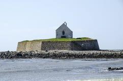 Casa en la isla, País de Gales foto de archivo