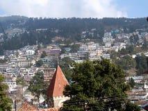 Casa en las colinas Fotos de archivo libres de regalías