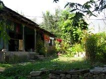 Casa en las colinas Foto de archivo