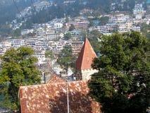 Casa en las colinas Foto de archivo libre de regalías