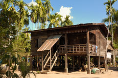 Casa en las zonas tropicales Imagen de archivo libre de regalías