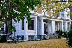 Casa en Notting Hill (Londres) Foto de archivo libre de regalías