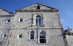 Casa en Orebic, Croacia Fotos de archivo