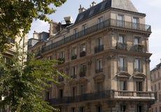 Casa en París Foto de archivo libre de regalías