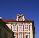 Casa en Praga Fotografía de archivo libre de regalías