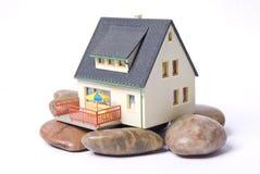 Casa en roca Foto de archivo