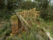 Casa en ruinas del absoluto y abandonada fotografía de archivo libre de regalías