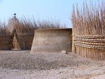 Casa en Sudán foto de archivo