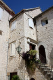 Casa en Trogir Fotos de archivo