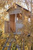 Casa en un árbol Fotografía de archivo libre de regalías