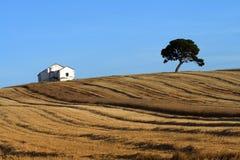 Casa en una colina española Imagen de archivo