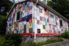 Casa en una falda Imagen de archivo