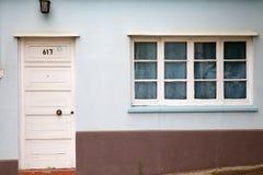 Casa en Valparaiso, Chile Imagen de archivo