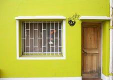 Casa en Valparaiso, Chile Imagen de archivo libre de regalías