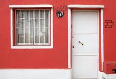 Casa en Valparaiso, Chile Imagenes de archivo