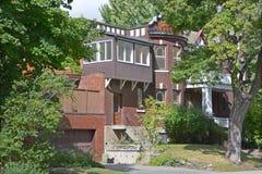 Casa en Westmount Imagenes de archivo
