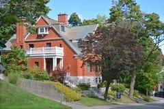 Casa en Westmount Fotos de archivo libres de regalías