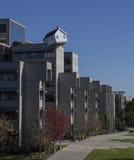 Casa encima del edificio Fotos de archivo