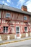 Casa enmarcada de la madera Imagen de archivo