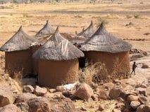 Casa enojada en África Fotos de archivo