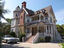 Casa enorme del Victorian Fotos de archivo libres de regalías
