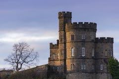 Casa escocesa del castillo en la colina de Calton de Edimburgo Fotografía de archivo libre de regalías