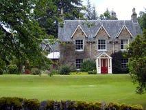 Casa escocesa victoriana foto de archivo libre de regalías