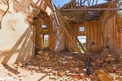 Casa escudada Fotografía de archivo libre de regalías