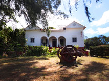 Casa espanhola branca da plantação Imagem de Stock