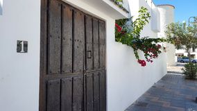 Casa espanhola tradicional Fotos de Stock Royalty Free