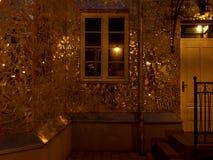 Casa, espejos y luz imagen de archivo