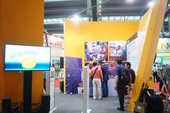 Casa esperta internacional de Shenzhen e expo inteligente do hardware Imagem de Stock