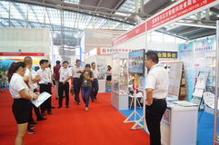 Casa esperta internacional de Shenzhen e expo inteligente do hardware Foto de Stock