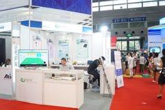 Casa esperta internacional de Shenzhen e expo inteligente do hardware Fotos de Stock